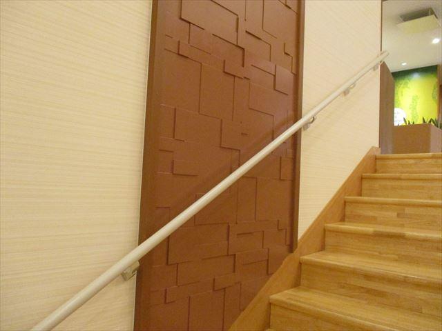 階段化粧ボードの塗り替え後