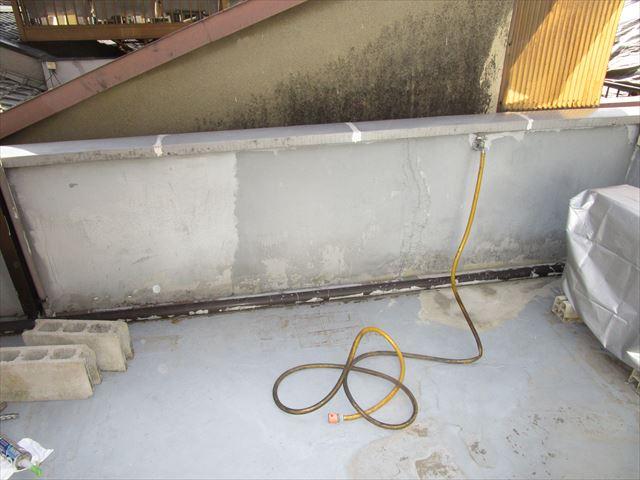屋上各所塗装前