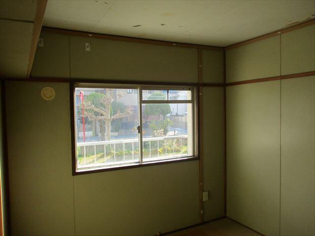 和室壁の上塗り