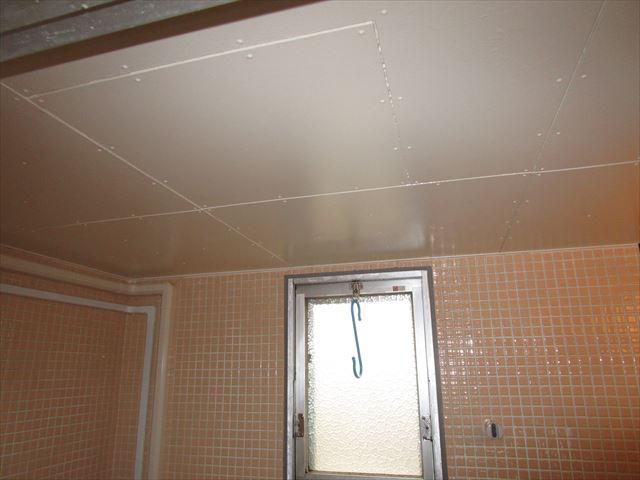 浴室天井完了