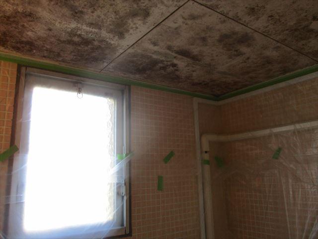 現状風呂天井