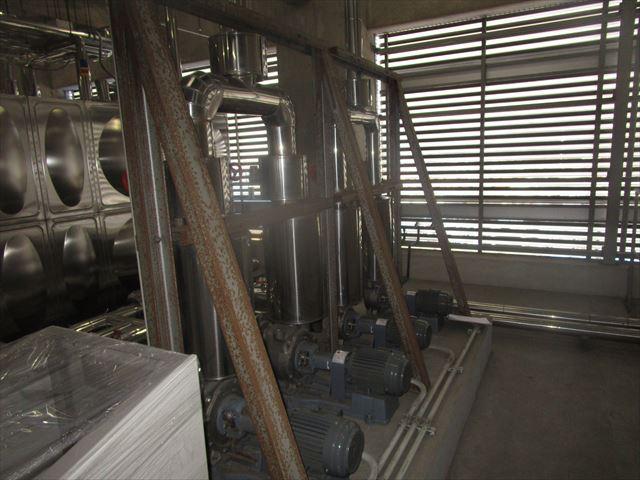 排水施設のH鋼