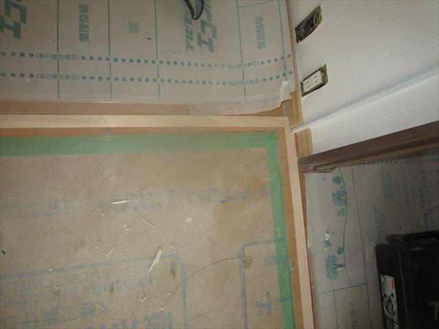 床の見切り板