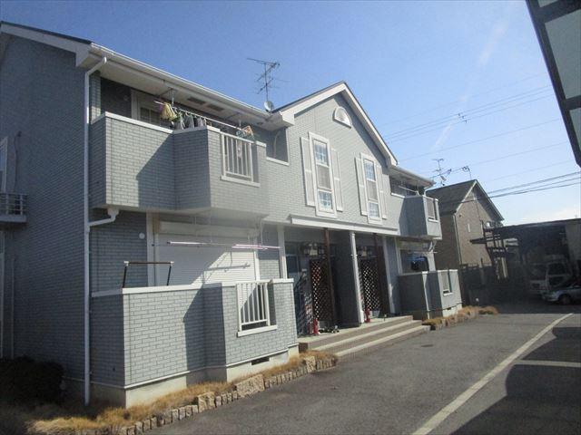 塗装前の集合住宅
