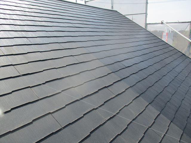 全面シーラーした屋根