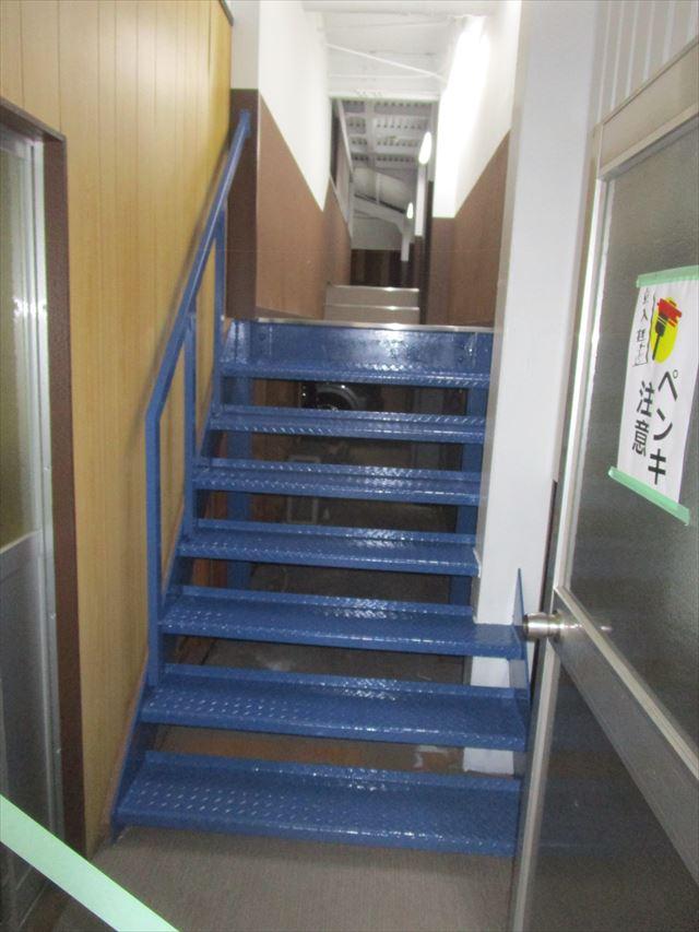 仕上がった階段