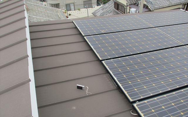太陽光発電のパネル