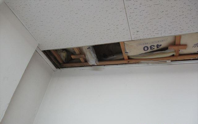 カビ天井撤去