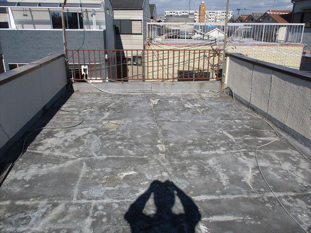 陸屋根の現状
