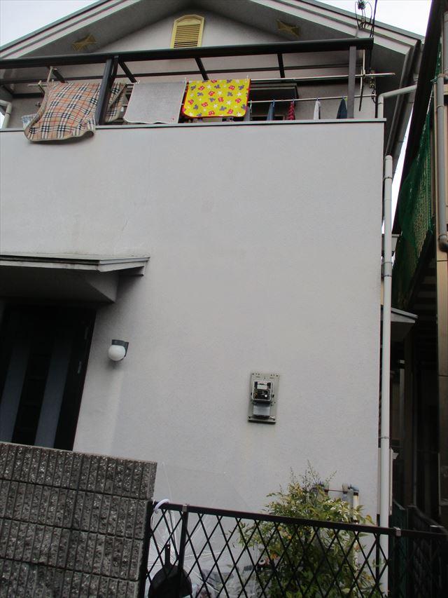 正面からの家