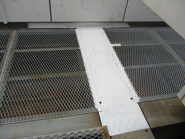 塗装した鉄板