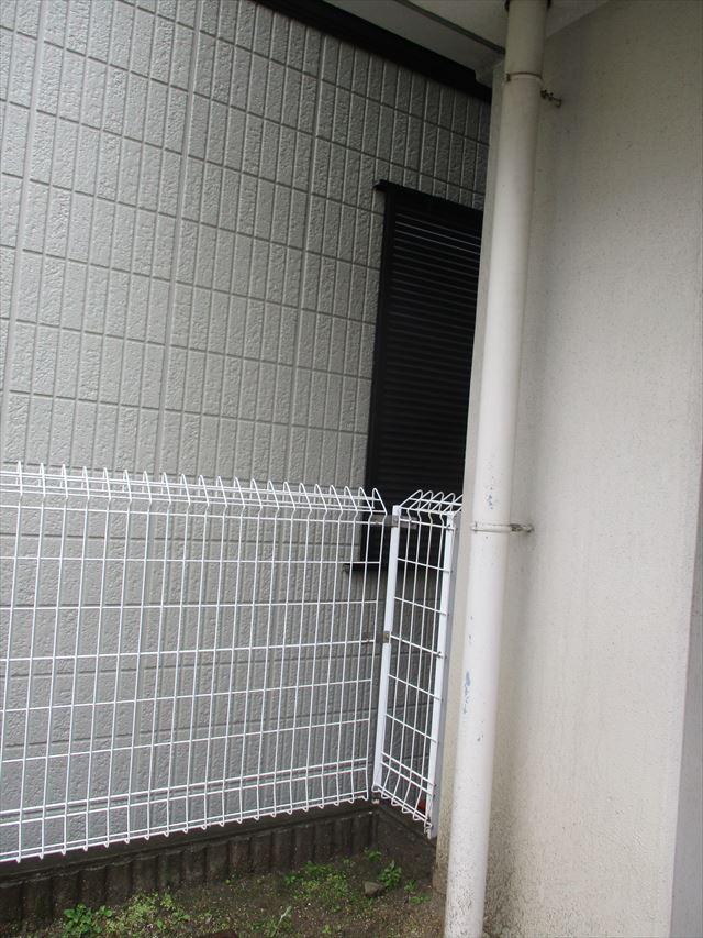 1階の立て樋