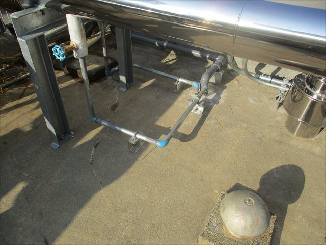 設備のガス配管