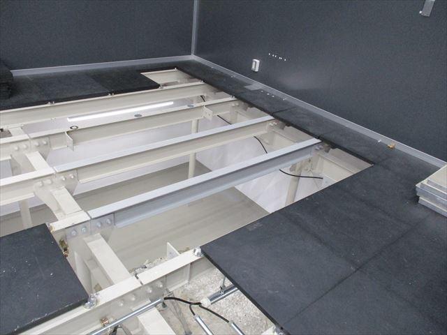 床下鉄骨塗装