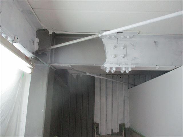 H鋼の塗装