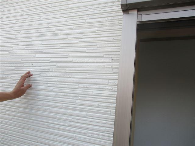 張り替えた壁