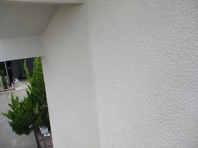 奈良市で平屋建ての外壁塗装の付随工事が終了しました。