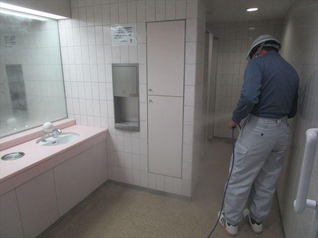 洗面所コーティング