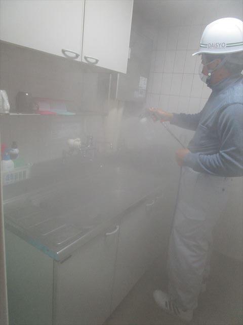 湯沸室コーティング