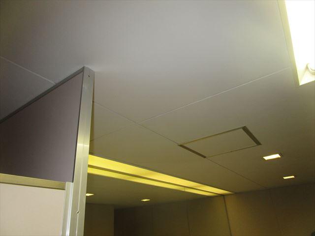 天井塗装終了